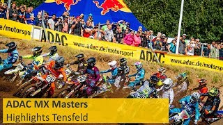 ADAC MX Masters Highlights Tensfeld 2019