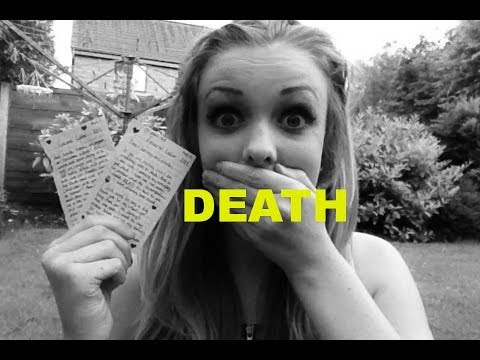 Reading my DEATH NOTE I wrote age 10!