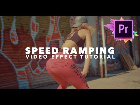 Fast Forward Speed Ramping Effect! (Adobe Premiere Tutorial)