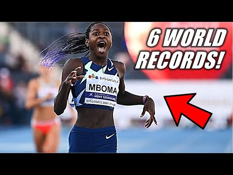 THIS IS UNBELIEVABLE!!    Christine Mboma Shocks The World - 2021 Diamond League 200 Meter Dash