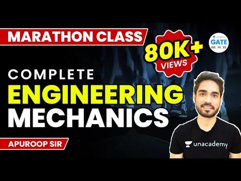 Night Marathon | Complete  Engineering Mechanics  | By Apuroop Sir