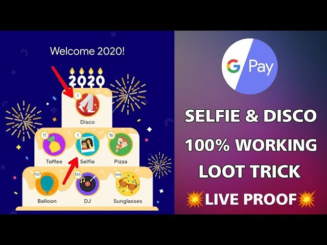 How To Collect Google Pay Disco And Selfie Stamp   Google Pay Stamp Tricks   Google Pay 2020 Offer