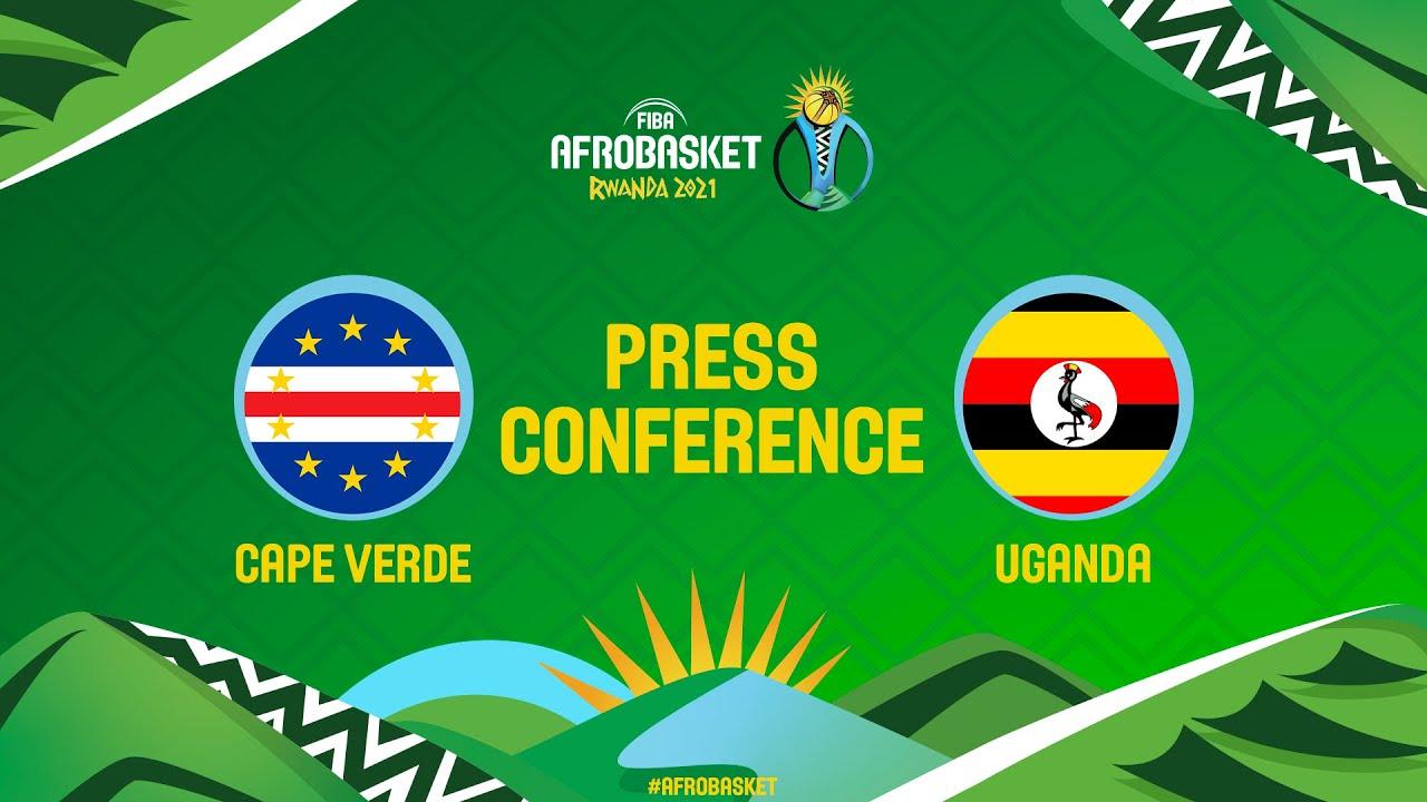 Cape Verde v Uganda - Press Conference - FIBA AfroBasket 2021