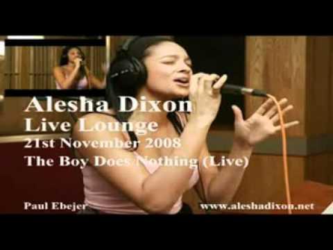 Alesha Dixon   The Boy Does Nothing   BBC Radio One's Live Lounge 21st November 2008