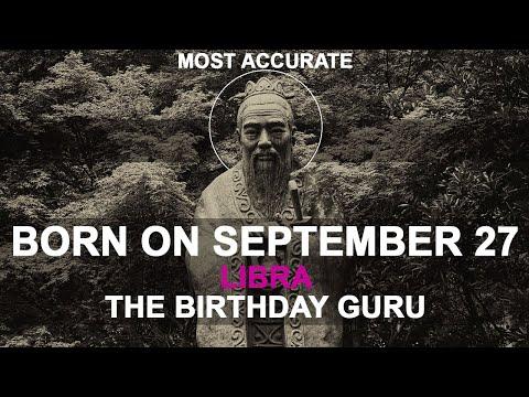 Born on September 27 | Birthday | #aboutyourbirthday | Sample