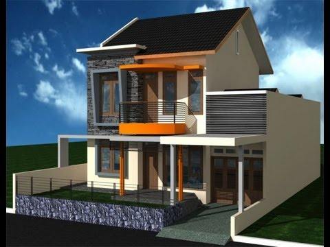 model rumah sederhana 2 lantai 2013 minimalis tapi mewah