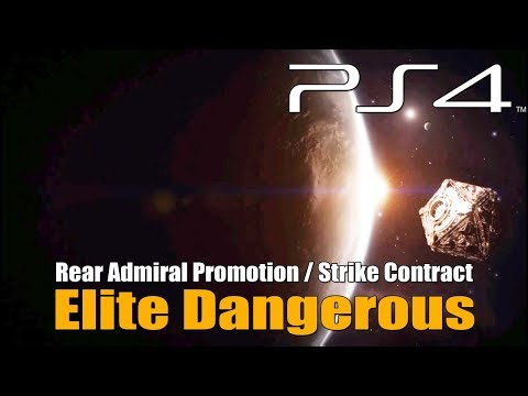 Elite Dangerous - Rear Admiral - Strike Contract