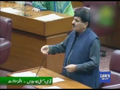 Opposition Protest in National Assembly