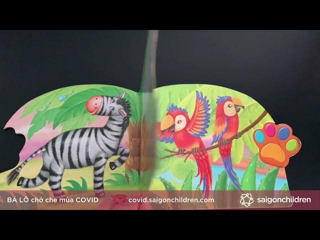 Tài năng của sư tử con   Đọc sách cho trẻ mùa dịch