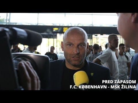 Pred zápasom F.C. København - MŠK Žilina