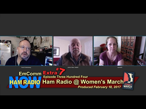HRN 304/EmComm Extra #7: Ham Radio @ the Women's March on Washington