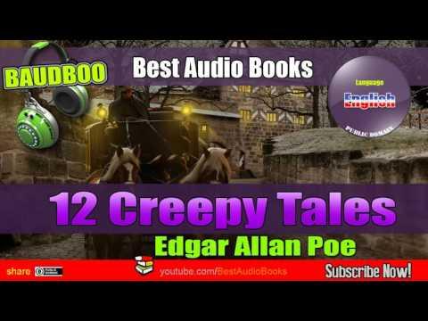 12 Creepy Tales (Edgar Allan POE) - [ Best AudioBooks - Public Domain Free ]