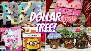 VALENTINE'S DAY DECOR DOLLAR TREE *NEW* SHOP WITH ME 2019