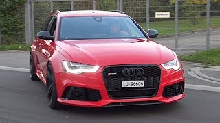 Audi RS6 C7 with Forge Carbon Air Intake & Milltek De-Cat Exhaust