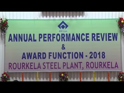 Annual Performance Review & Award Function-2018 || Rourkela Steel Plant