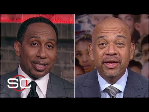 Stephen A. and Mike Wilbon on whether KD 'forgot' to put Russ in his top 5 on purpose  SportsCenter