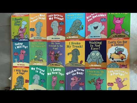 Elephant and piggie- I really like Slop- read aloud