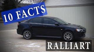 10 Facts // Mitsubishi Lancer Ralliart (2009+)