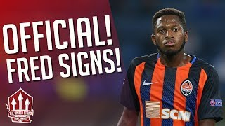 FRED The RED SIGNS! Manchester United Transfer News