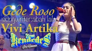 Top Hits -  Gede Roso New Kendedes The Best Vivi Artika
