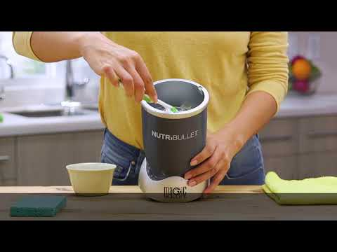 NutriBullet Actuator cleaning