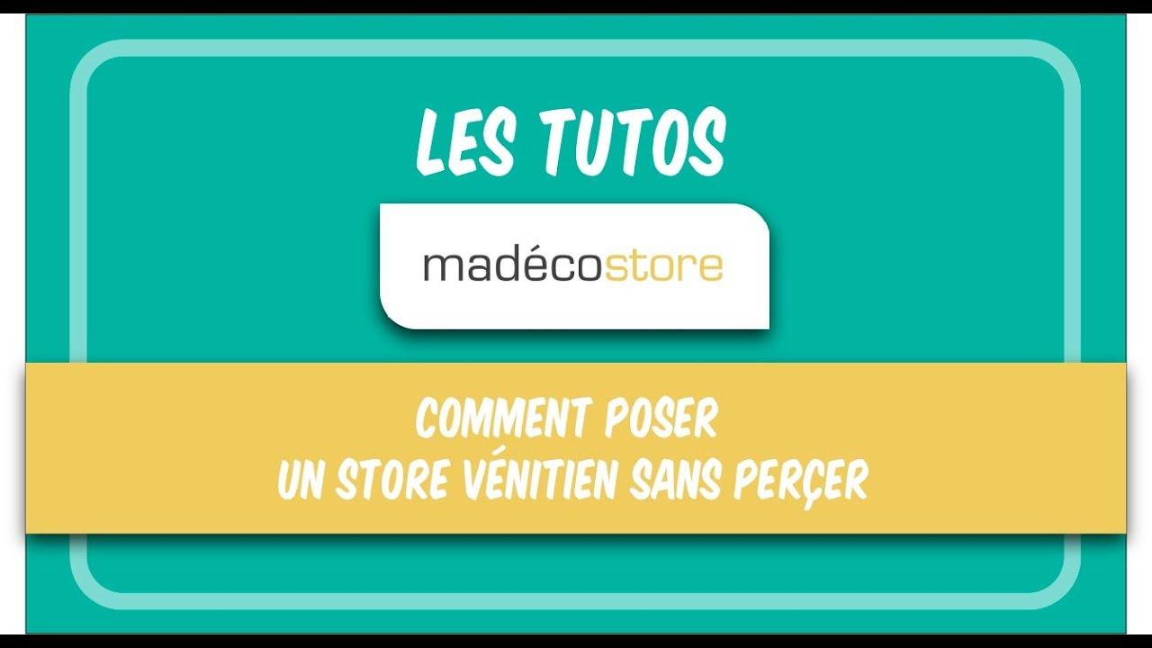 Store Venitien Sans Percer Comment Poser Un Store Venitien Sans Percer Video De Pose Youtube
