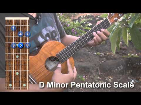 Uke Minutes 53 - Minor Pentatonic Scales