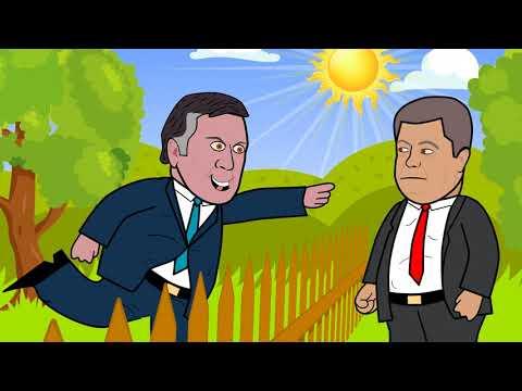 Саакашвили проходит границу в Украине
