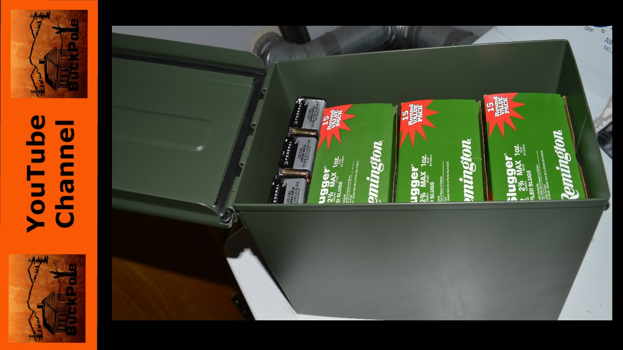 3 Reason To Buy And 3 Reasons Not To Buy A Wal Mart Ammo Can