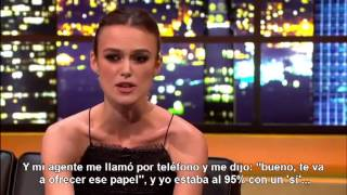 Keira Knightley - entrevista - subtítulo español.