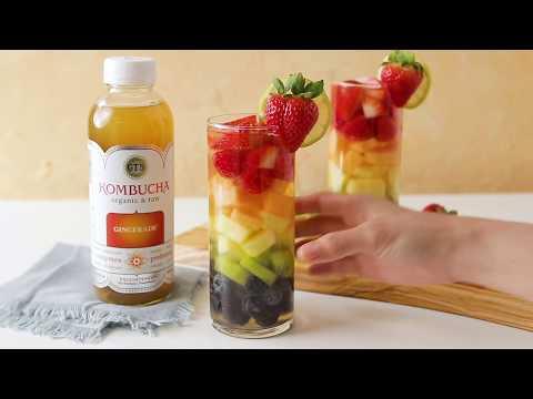Kombucha Pride Sangria Recipe | GT's Kombucha