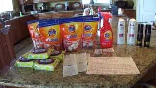 Target Couponing Haul 6/10---FREE TIDE BOOST and CHEAP Unileaver Products Thumbnail
