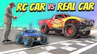 GTA 5 | RC car vs REAL car
