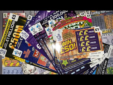 Scratchcards From The National Lottery © (181) From A FAN!! Continued...