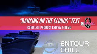 ADJ Entour Chill COMPLETE Review (Regular Ice vs. Dry Ice)