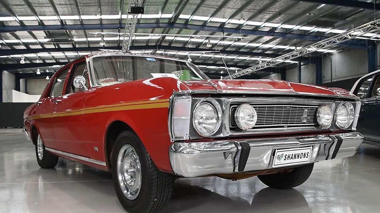 1969 Ford Falcon XW GS Sedan - 2017 Shannons Melbourne Spring Classic Auction