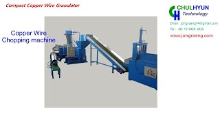 Compact wire granulator (ECG20)- Wire recycling machine