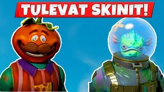 THESE SKINS COME TO FORTNITEEN! -Fortnite News (English Fortnite Battle Royale)