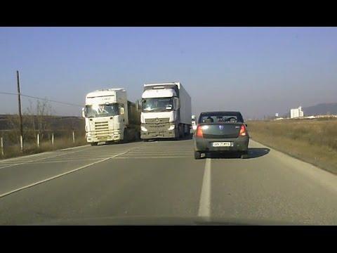 Compilatie trafic 6: depasiri, pietoni, camioane