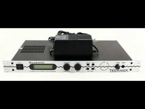 Quasimidi Technox - examples of sound
