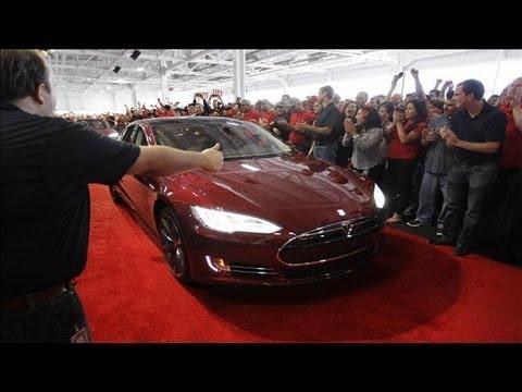 Tesla Says Model S Set Safety Test Record Tesa Motors