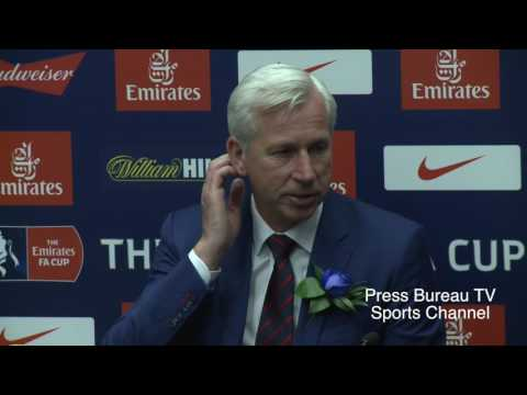 Alan Pardew reaction Crystal Palace vs Manchester United FA CUP