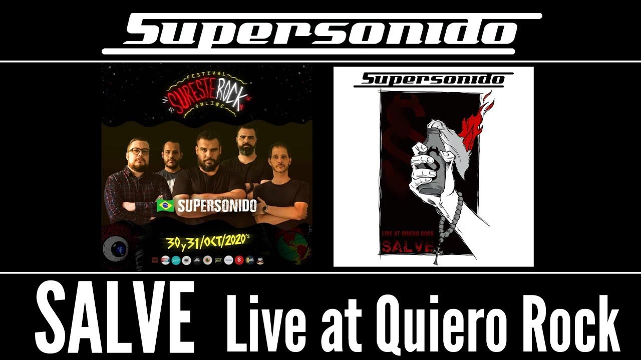Assista ao clipe do single SALVE (Live at Quiero Rock)