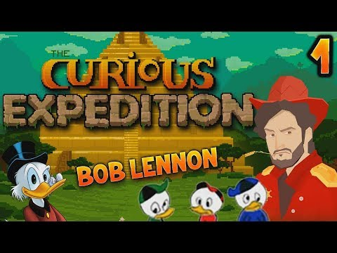 LA BANDE A PICSOU !!! -Curious Expedition- Ep.1 avec Bob Lennon