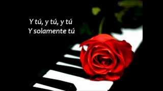 Pablo Alborán - Solamente Tú [En Acústico] (con letra)