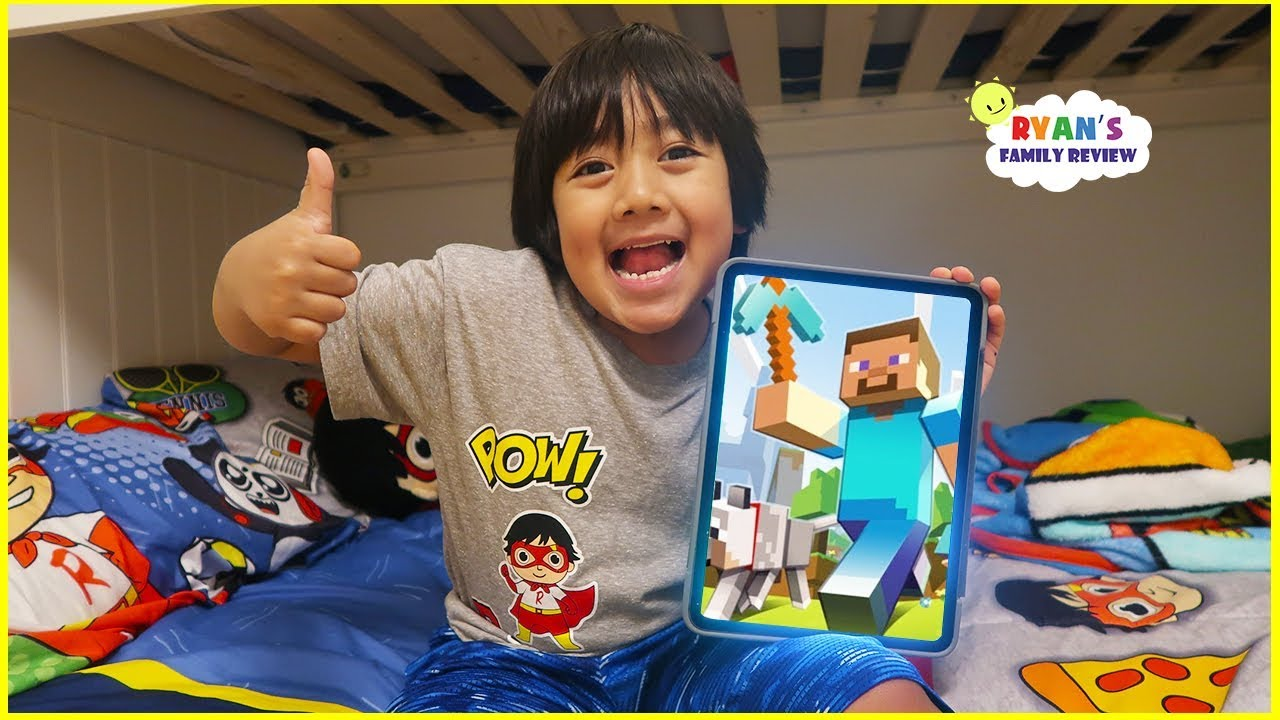 Download What's on my iPad with Ryan! Minecraft, Tag with Ryan and kid games!