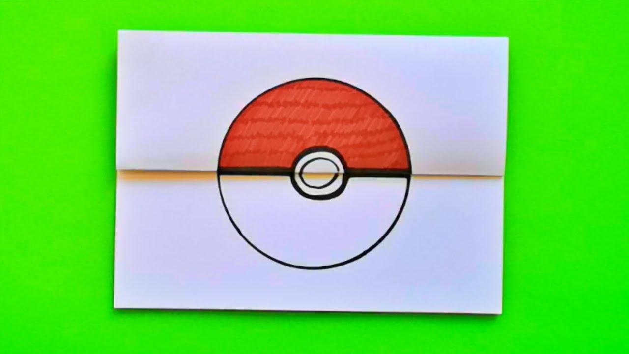 PIKACHU in POKÉBALL - TEKENEN met meester Richard || VOUWTEKENING (Pokemon)