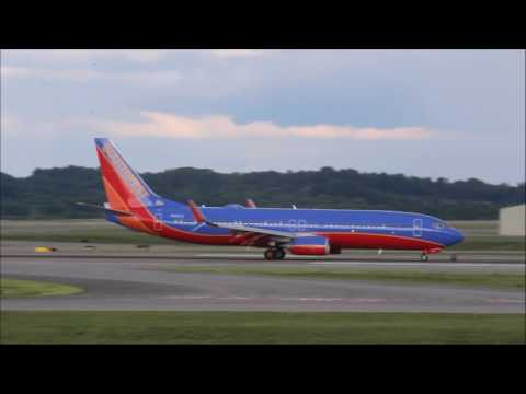 KBNA Spotting: Evening Arrivals and Departures (6/29/2017)