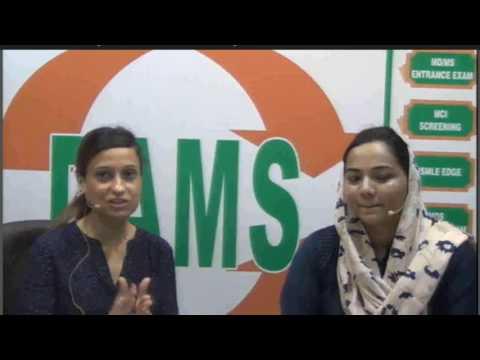 Meet Dr Henna Faizel #DNB JUNE2017 Rank-1 Exclusive #DAMS Student