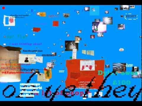 Twee Protoype | Walkthrough of interactive cd-rom artwork | Neil Winterburn | 2001